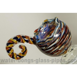 Glass Bowl, Mixed Colors