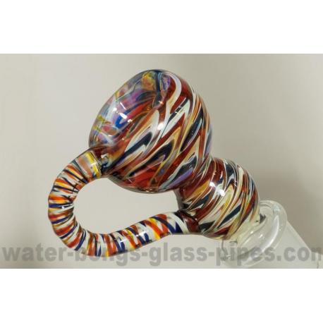 Glass Bowl, Vivid Toker