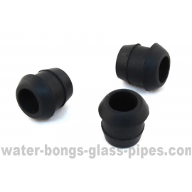 Spare Rubber Grommets for Glass Bongs, 3 pcs
