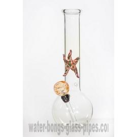 Small Glass Bong Starfish