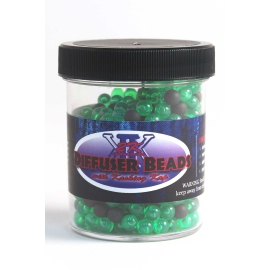 2K Diffuser beads GREEN/BLACK 500 pcs