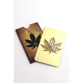 Credit card Grinder Gold