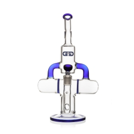 GG Percolator Bong Rapture Blue