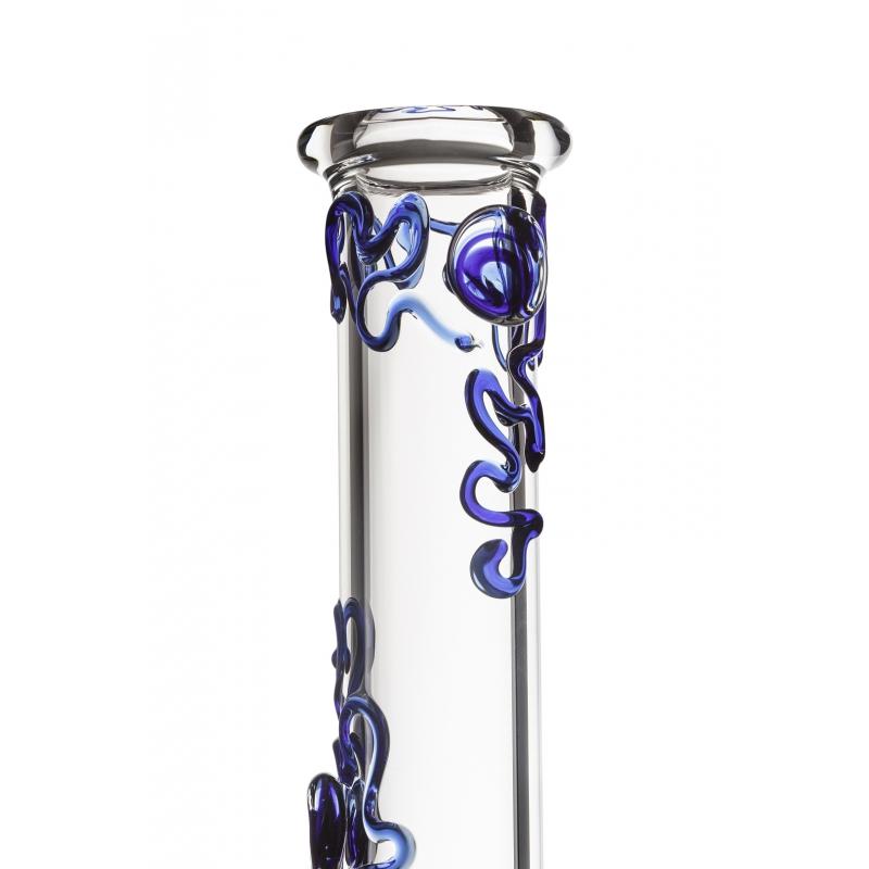 Blue Fairy 5mm Glass Bong