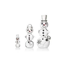 Snowman Family Smoking Set