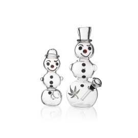 Snowman Pipe and Bong Set - Limited Edition