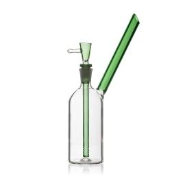 Glass Bong Green Bottle