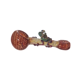Red Frog Spoon Pipe