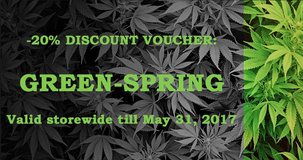 Green Spring Discount Voucher