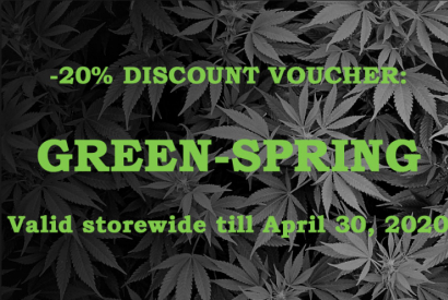 Green Spring and your -20% discount voucher