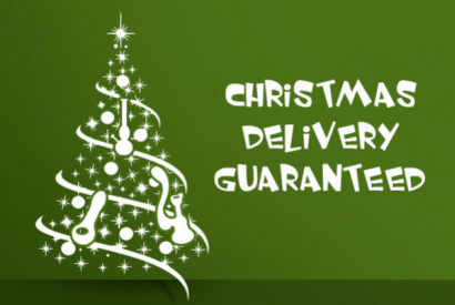 CHRISTMAS DELIVERY GUARANTEED